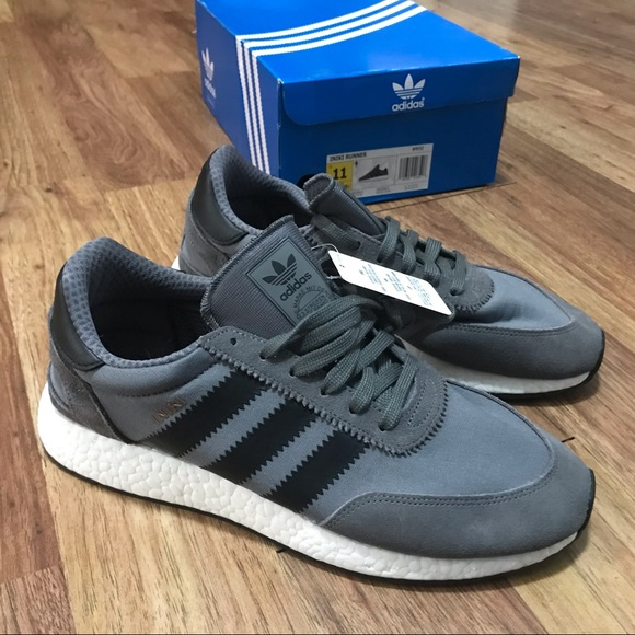 Ds Adidas Iniki Greyblack Size 1